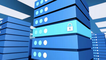 Animated blocks stacked for security for a Microsoft animated video produced by VMG Studios
