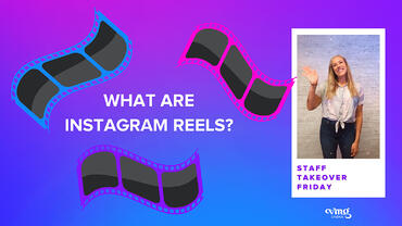 What are Instagram Reels cover image featuring VMG Studios employee, AJ