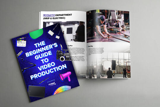 The Beginner's Guide to Video Production book design