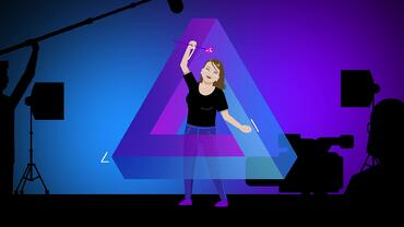 Animated version of VMG Studios producer Shawna for a video on how long it takes to make an animation/animated video